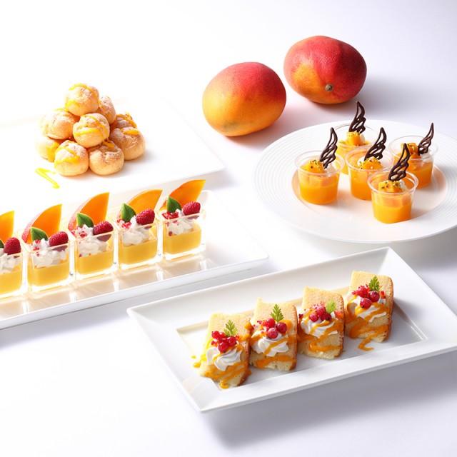 4種類のマンゴーデザートが食べ放題!<br>期間限定の「マンゴーデザートフェア」