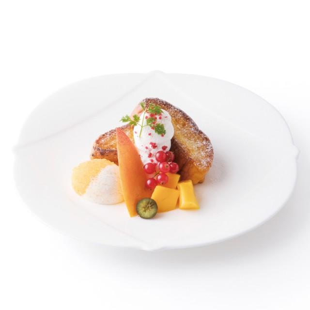 フルーツバーに宮崎マンゴーが登場<br>「宮崎マンゴーのフレンチトースト」